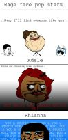 Rage Comic - Rage Face Popstars Pt. 1 by MrJak