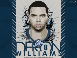 Deron Williams Vector by Cotovelo