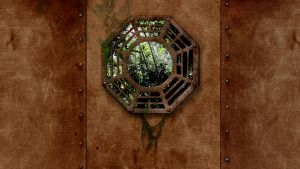 LOST - Rusty Metal Wallpaper 2 by grima1ex