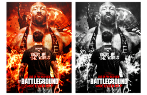 WWE BattleGround 2013 poster by JoKeRWord