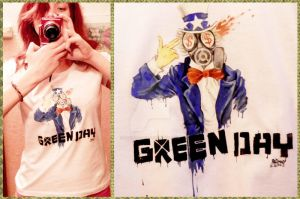 THE GREEN DAY T-shirt by dragon-flies