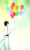 Ulquiorra Welcomes the New Year by keitoz