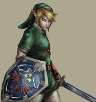 Link portrait by YamaOrce