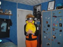 Naruto and pikachu again by emopuppy07