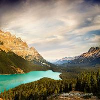 Lake Peyto by m-ozgur