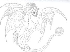 Dragon Sketch by JCRO17