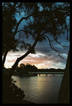 Lake Cathie sunset 7 by wildplaces