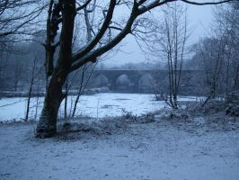 snowy water by harrietbaxter