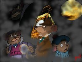 The Great Mouse Detective by The-B-Meister