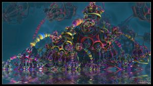 Psychedelic Beast by Eccoton