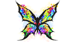 Butterfly Tattoo - Splatter by PreoSmo