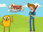 Me in Adventure Time by GiulioPrv
