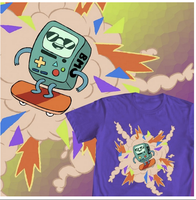 BMO's Skateboard Video! by radtastical