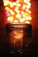Jar of Bokeh by redrum201