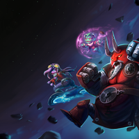 Awesomenauts Main Menu by snowicewater
