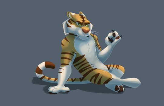 Leo The Tiger Commission by shadythebluewolf