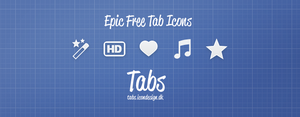 Epic iPhone Tabbar Icons by kevinandersson