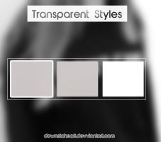 Transparent styles by Downstoheart
