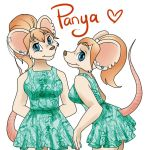 Panya Outfit - Mouse Girl by iMandarr