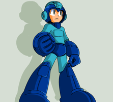 Mega Man Megamix - Mega Man by mitchell00