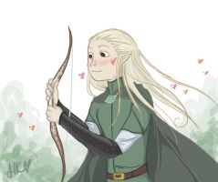 Bow of Lorien by HannahBreezy