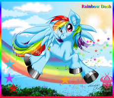 .:Rainbow Dash:. by Bowser2Queen