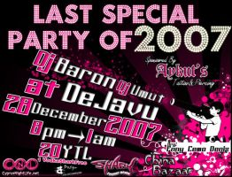 Last Special Party of 2007 by batucy