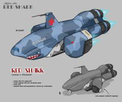 ATRS - Red Shark concept design by Jops556