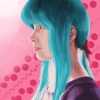 Blue Hair by ThisIsArtMaybe