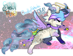 Ghostly Nebula SoulFox! //DTA-Open!// by SetSaiI