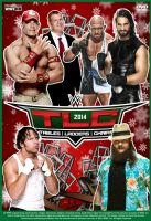 WWE TLC 2014 Poster by Chirantha