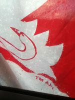 Sydney swans flag by Koala-Sam