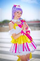 I wanna be an idol! by Saru-Cosplay