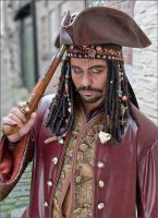Pirate red leather by overlord-costume-art