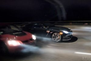 The night race by rt13