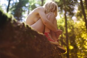 Pierrine on a big rock by Who-Is-Chill