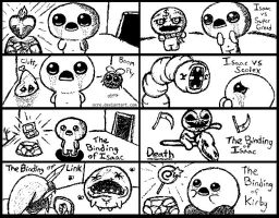 The Binding of Isaac Miiverse Doodles by OCRE
