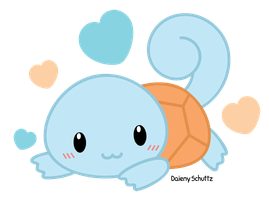 Chibi Squirtle by Daieny