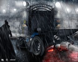 Batman: Arkham City Gates by BDup07