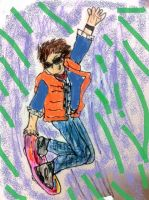 two  minute Marty Mcfly by FangirltoIsengard