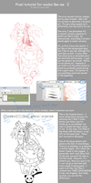 Pixel Tutorial by Hoshi-Suzume