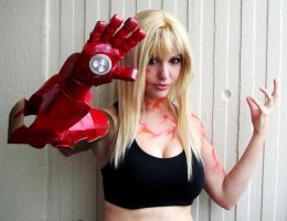 Extremis Pepper Potts Cosplay by Lisa-Lou-Who