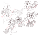 MDF Commission Sketch Sheet by Dracini