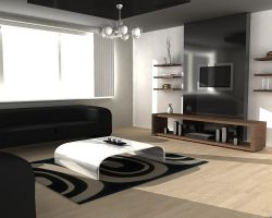 Living room 2 by Mr-StEfF