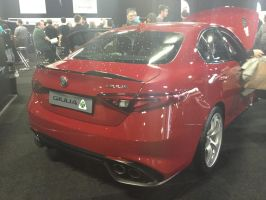 Alfa Romeo Giulia Quadrifoglio rear by Car-lover33