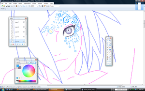 .:New Naruto OC WIP :. by alexpc901