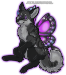 Nyx Chibi (Commission) by Striped-Tie