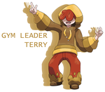 Gym Leader Terry by Smiley-Fakemon