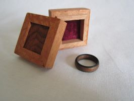 Lacewood ring box by DMSscroller