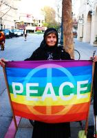 Never Too Old For Peace. by veronicagibson